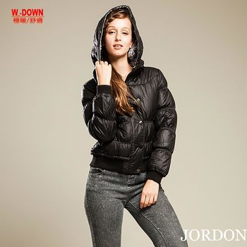 【JORDON橋登】女款機能時尚90%羽絨外套(434)