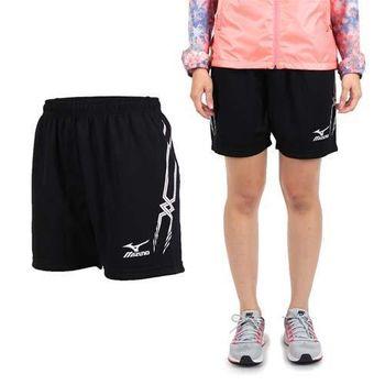 【MIZUNO】女排球褲- 排球短褲 慢跑 美津濃 黑白
