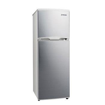 【TATUNG 大同】 雙門冰箱175L-白金銀 / TR-B175HT-S 送安裝
