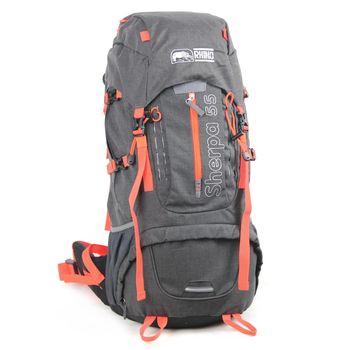 RHINO犀牛Sherpa 55公升登山背包-灰橘