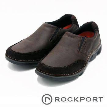 Rockport 舒適健走鞋休閒鞋男鞋-咖