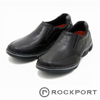 Rockport 休閒鞋舒適減震男鞋-黑