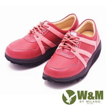 W&M FIT飛線休閒運動鞋健走鞋 女鞋-粉(另有藍)