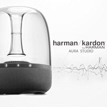 【Harman Kardon】 360度環繞藍芽喇叭 Aura Studio