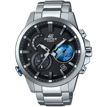 EDIFICE EQB-600 全新藍牙錶款-黑X藍_EQB-600D-1A2