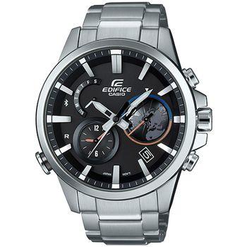 EDIFICE EQB-600 全新藍牙錶款-黑 EQB-600D-1A