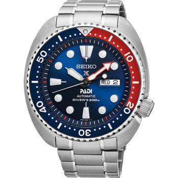 【SEIKO 精工】Prospex PADI 水鬼潛水200米聯名機械錶(45mm/4R36-05H0B)
