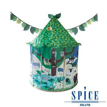【日本 SPICE】KIDS ABC 兒童串旗 室內 遊戲屋 帳篷