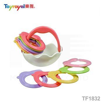 日本《樂雅 Toyroyal》雞寶寶套圈組