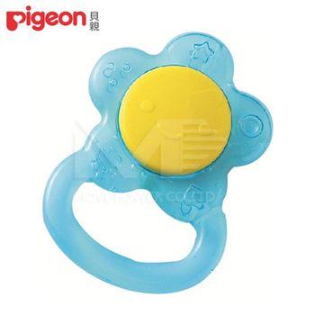 日本《Pigeon貝親》小花冰涼固齒器