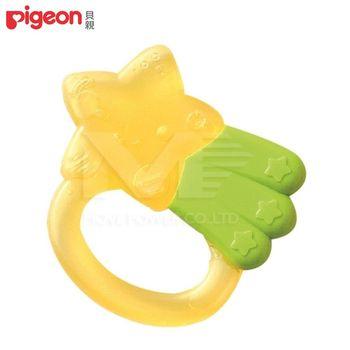 日本《Pigeon貝親》星星冰涼固齒器