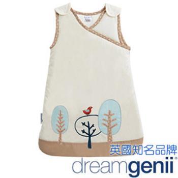 英國 Dreamgenii 防踢被嬰兒睡袋 Sleeping Bag 卡奇色紅鳥 S號