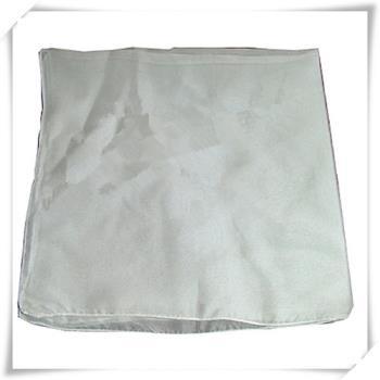 真絲雙層素色圍巾