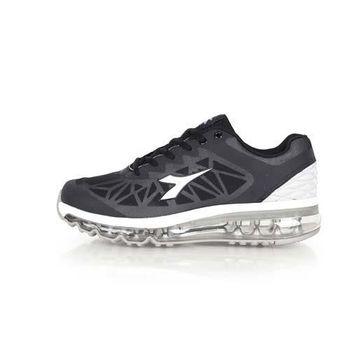 【DIADORA】男氣墊慢跑鞋-路跑 運動 休閒 黑深灰