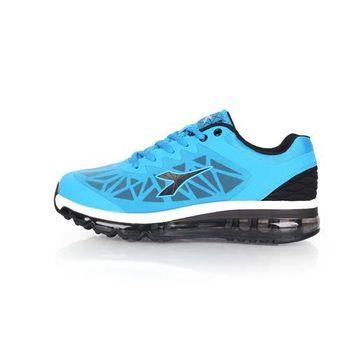 【DIADORA】男氣墊慢跑鞋-路跑 運動 休閒 水藍黑