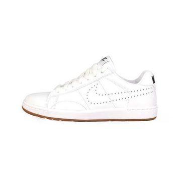 【NIKE】W TENNIS CLASSIC ULTRA LTHR 女運動板鞋 白卡其