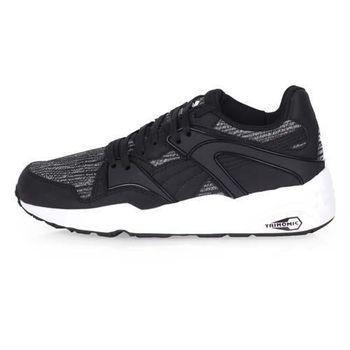 【PUMA】BLAZE TIGER MESH 男休閒運動鞋-慢跑 路跑 黑白