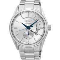 SEIKO PRESAGE 4R57 動力儲存機械腕錶 #45 銀 #47 42mm 4R