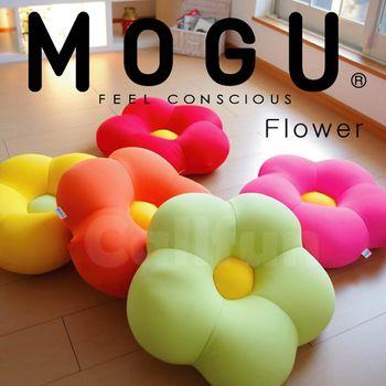 【日本MOGU】繽紛花朵 可愛抱枕/舒壓靠枕/造型坐墊 ‧ 日本製