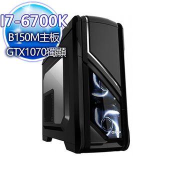  微星平台 瓔珞紗露 I7-6700K四核 240G SSD/GTX1070獨顯桌上型電腦