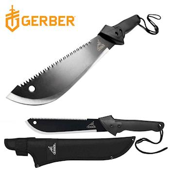 Gerber Machete JR 鱷魚柄鋸齒砍刀/中型31-000759