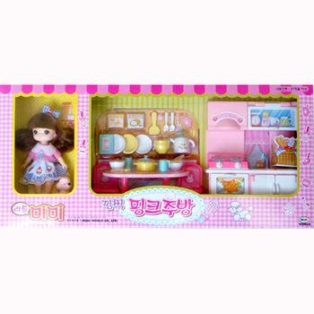 【MIMI WORLD】家家酒系列-迷你MIMI粉紅廚房 MI11501