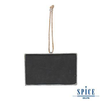 【日本 SPICE 】馬口鐵吊掛式 小黑板 L / 備忘錄 年曆