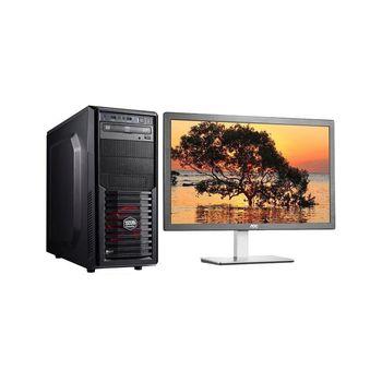 Genuine 捷元 宙斯機 i5-6400四核 GTX1060獨顯 Win10 桌上型電腦+AOC I2476VW6 23.6吋 電腦螢幕 超值組