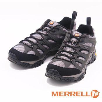 MERRELL MOAB GORE-TEX XCR 黃金大底低筒健行鞋 男鞋-灰