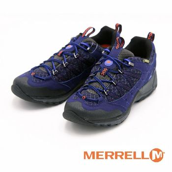 MERRELL AVIAN LIGHT SPORT 萬特戶外運動 防水輕量運動鞋 女鞋-藍
