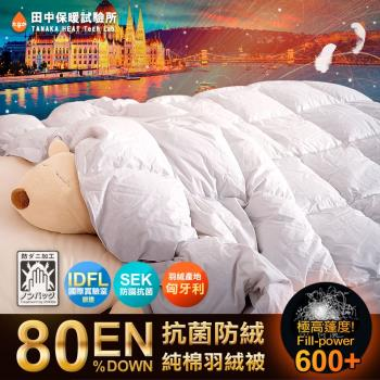 《田中保暖試驗所》皇家 匈牙利鵝絨 羽絨被1.1Kg 6x7尺 立體隔間 中歐保暖聖品 寒流必備