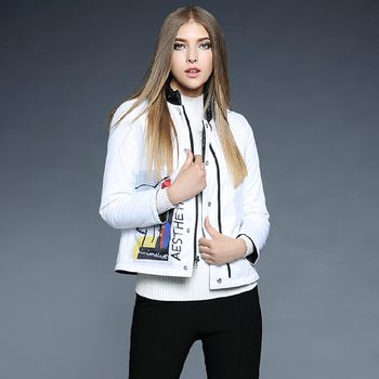 【M2M】時尚正反兩穿輕羽絨棉長袖外套