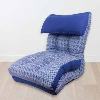 【KOTAS】英倫經典格紋風 室內無腳和室椅 沙發椅 沙發床   KOTAS
