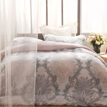 BBL 雅韻100%萊賽爾纖維(天絲®).印花加大兩用被床包組