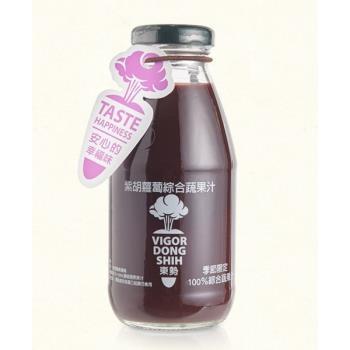【活力東勢】100%紫胡蘿蔔綜合蔬果汁(24瓶)