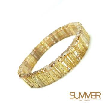 【SUMMER寶石】珍稀鈦晶手排50g以上(隨機出貨)