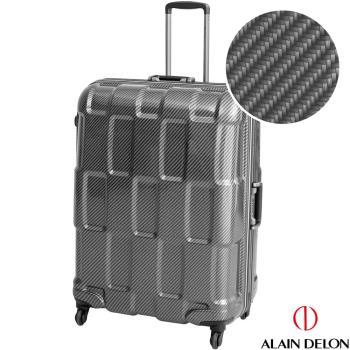 ALAIN DELON 亞蘭德倫 29吋TPU系列鋁框行李箱(黑)
