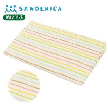 台灣總代理 日本Sandexica寶寶防吐奶枕/孕婦托腹枕 - 彩色蠟筆