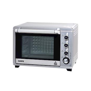 | SAMPO | 聲寶 38L電子雙溫控旋風油切烤箱 KZ-TA38F