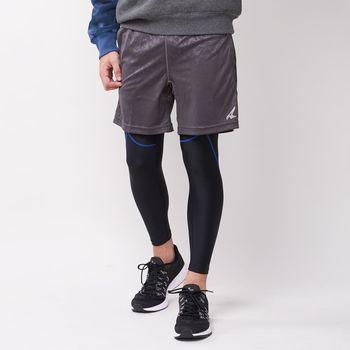 【美國 AIRWALK】動感修身運動緊身褲-男-黑