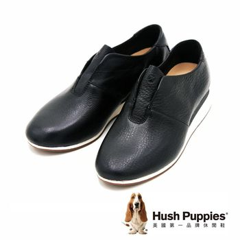 Hush Puppies 多功能都會運動風輕量休閒鞋 女鞋-黑(另有棕)
