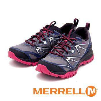 Merrell 戶外鞋 Capra Bolt Gore-Tex 防水運動鞋 女鞋-灰