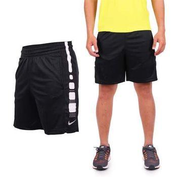【NIKE】男針織短褲-慢跑 路跑 黑白