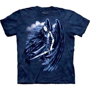 【摩達客】(預購)美國進口The Mountain  墜落天使 純棉環保短袖T恤