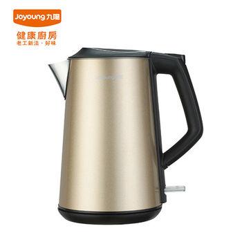【九陽】九陽不鏽鋼天鵝壺 JYK-15F06M(香檳金)