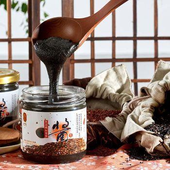【弘益】三代傳承紅藜麥黑芝麻醬12件組(300公克/瓶)