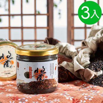【弘益】三代傳承紅藜麥黑芝麻醬3件組(300公克/瓶)