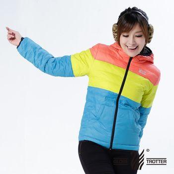 【遊遍天下】親子款JIS90%羽絨防風防潑水羽絨外套(桔/黃/水藍)