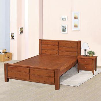 【時尚屋】[G17]瑪莎5尺雙人床G17-A071-1不含床頭櫃