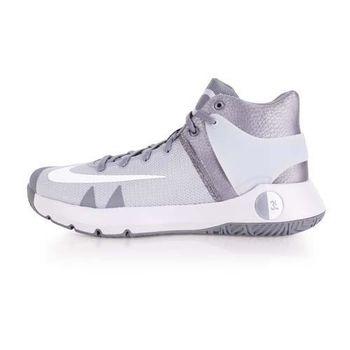 【NIKE】KD TREY 5 IV EP 男籃球鞋-杜蘭特 高筒 灰白